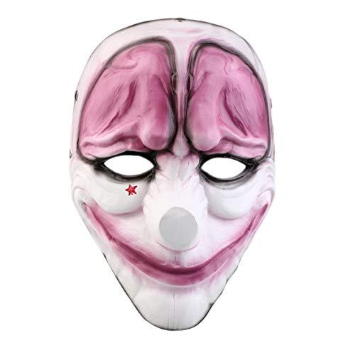 Halloween Dekorationen Lustig Für Wolf Rote Gesichtsmaske Halloween Cosplay Prop Maske Flaggen Doom Spiel Ernte Tag Horror Harz Masken Halloween Decor
