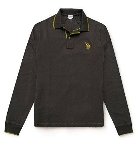 us-polo-association-mens-polo-shirt-green-medium