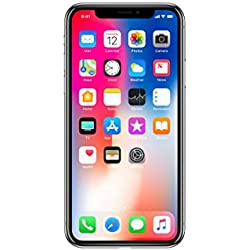 "Apple iPhone X SIM única 4G 64GB Gris - Smartphone (14,7 cm (5.8""), 64 GB, 12 MP, iOS, 11, Gris)"