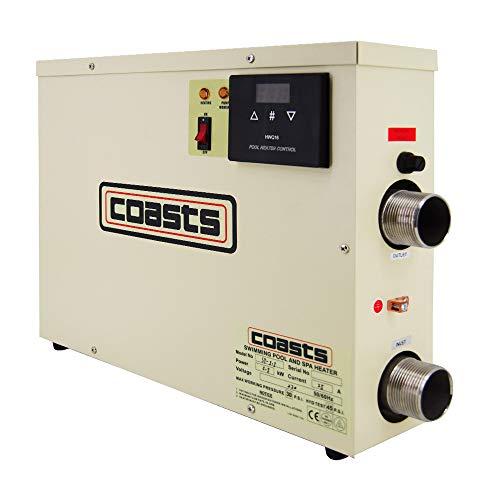 ETE ETMATE 11KW 220V Thermostat de Chauffage de Piscine Spa Spa Chauffe-Eau électrique Pompe...