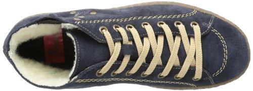 Rieker L7432 Damen Stiefel Blau (pilot 14)