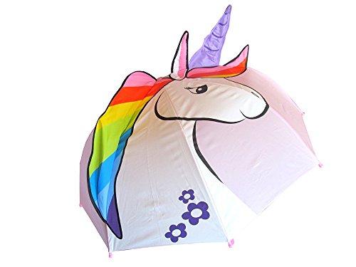 Regenschirm Einhorn Unicorn Mädchen Kinderschirm rosa D 65 cm