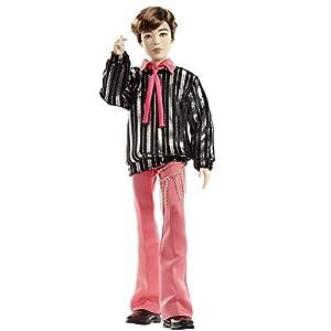 BTS Muñeco Deluxe Jimin , figura de colección premium, miembro banda coreana (Mattel GKC96)