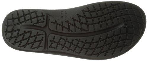 OOFOA|#OOfos Damen OOahh Slide Sport-& Outdoor Sandalen Schwarz (Black)