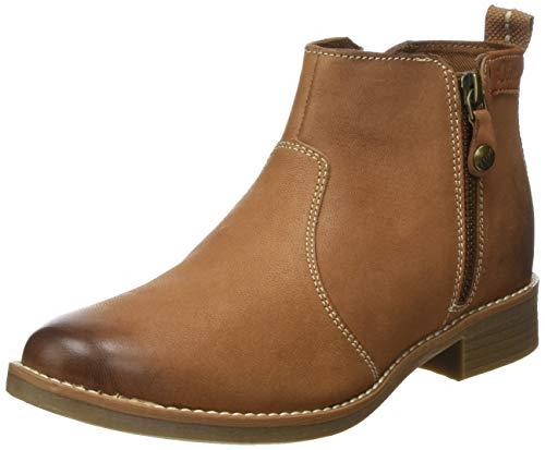 s.Oliver Damen 5-5-25300-32 305 Chelsea Boots, Braun (Cognac, 40 EU