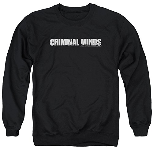 Criminal Minds TV Show CBS Logo Adult Crewneck Sweatshirt