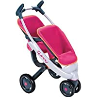 Smoby Maxi Cosi Quinny Twin 3 Wheel Dolls Pushchair