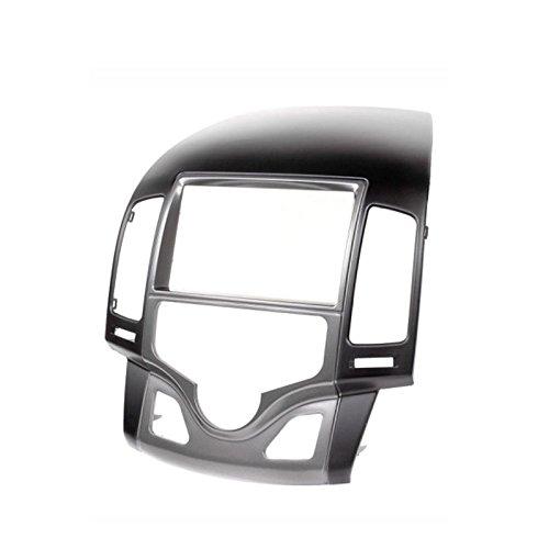 carav 11-142 Doppel DIN Autoradio Radioblende DVD Dash Installation Kit für i30 (FD) 2008-2011 automatische Klimaanlage/Links Lenkrad Faszie mit 173 * 98 mm und 178 * 102 mm Aftermarket Dash Kits