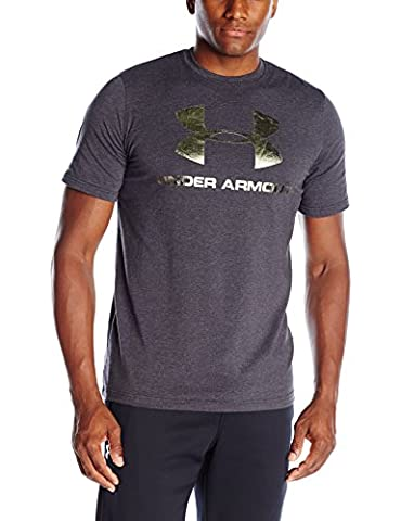 Under Armour 1257615-011 T-Shirt Homme, Noir,