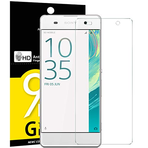 NEW'C Lot de 3 Verre Trempé pour Sony Xperia XA, Film Protection écran - Anti Rayures - sans Bulles d'air -Ultra Résistant (0,33mm HD Ultra Transparent) Dureté 9H Glass