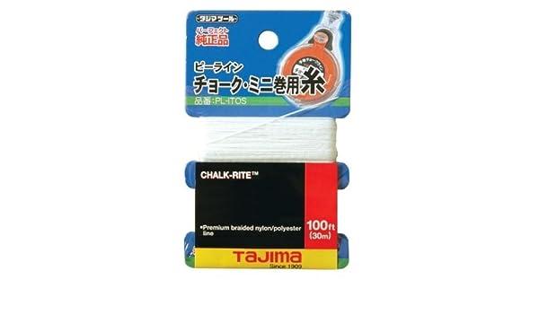 0.5 mm Thick by 100-Feet by Tajima Tajima PL-ITOS Chalk-Rite Premium Grade Ultra Thin Nylon Line