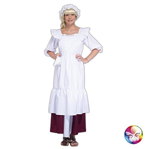 Gouvernante Kostüm (cu030970: Schürze Gouvernante Nanny mit Charlotte)