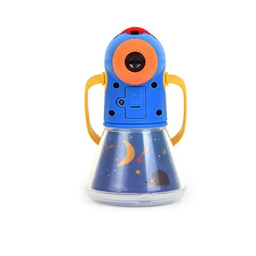 nalysevt Kinder Projektor Taschenlampe Geschichte Projektion Fackel Größer Klarer Bilder Beamer Kinder Taschenlampe Leuchtend Lehrreich Spielzeug Geschenk zum Kleinkind