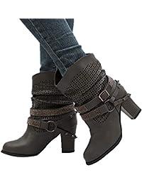 d862e057174e74 Suchergebnis auf Amazon.de für  stiefel mit schnuerung hinten ...