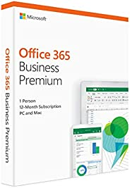 Microsoft Office 365 Business Premium Retail, For Mac / Windows, English Subscription, Middle East Version, 1