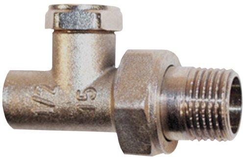 'Schläfer 0928115 Raccordement pour radiateur 15 mm à l'intérieur x 1/2 mâle Passage forme