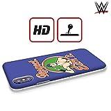 Head Case Designs Officiel WWE John Cena Respect Earn It 2017/18 Superstars Coque Dure pour l'arrière Compatible avec iPhone 6 / iPhone 6s