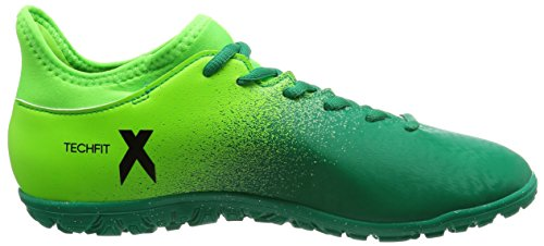adidas X 16.3 Tf, Chaussures de Football Entrainement Homme green