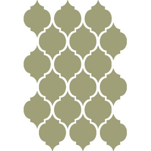 J Boutique Schablonen Marokkanische Schablone D 'oujda wiederverwendbar Vorlage für, Leinwand DIY Wand Decor Möbel Teppiche