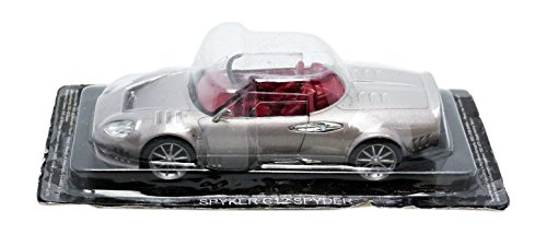 promocar-pro10258-spyker-c12-spyder-2008-echelle-1-43-argent