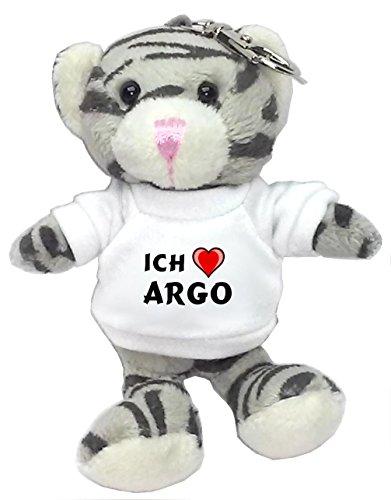 plusch-graue-katze-schlusselhalter-mit-t-shirt-mit-aufschrift-ich-liebe-argo-vorname-zuname-spitznam