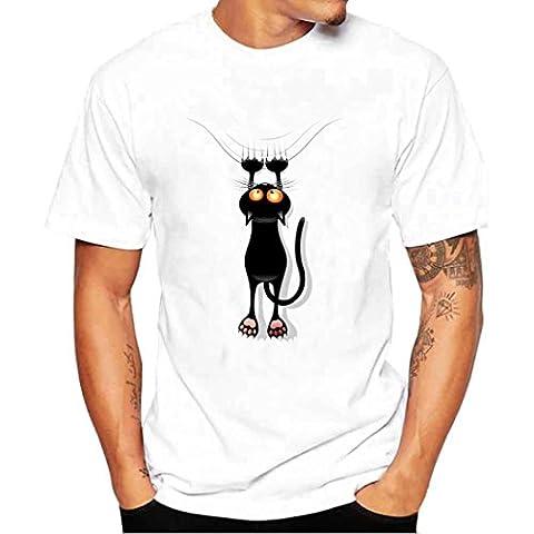 Beauté Top Hommes Garçon Taille Plus T-shirts d'impression shirt manches