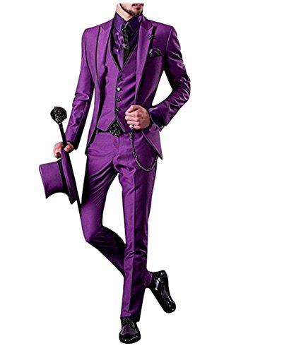 Leader of the Beauty -  Abito  - Uomo Purple