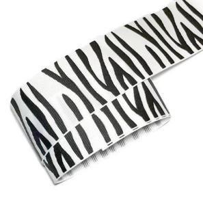 1Meter Zebra Print Animal Band 3,8cm 38mm (Print-zebra Print)