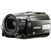 "JVC HD Everio GZ-HD3 - Videocámara (CMOS, 0,43 MP, 1/0,197 mm (1/5""), 10x, 200x, 3,2 - 32 mm) Negro"