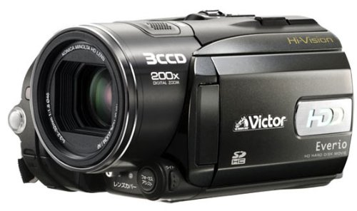 Deals For JVC HD GZ-HD3 Everio Camcorder Delivered with remote control