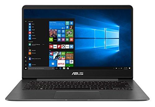 ASUS ZenBook UX430UA-GV362T - Ordenador portátil de 14' (Intel Core i7-8550U, 8GB RAM, 256GB SSD, Windows 10 Home) metal gris - Teclado QWERTY Español