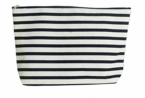 House Doctor - grosse Kulturtasche STRIPES (32x21 cm)