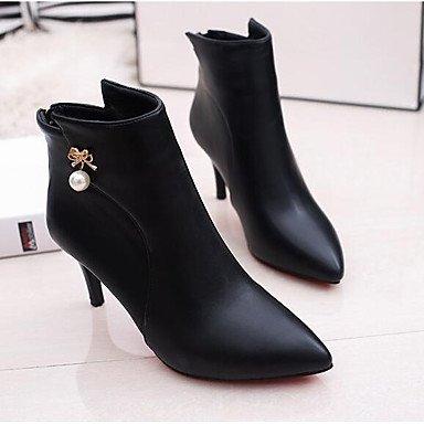 Stivali da donna Comfort PU Comfort Casual Comfort Rosso Grigio Nero Piatto Gray