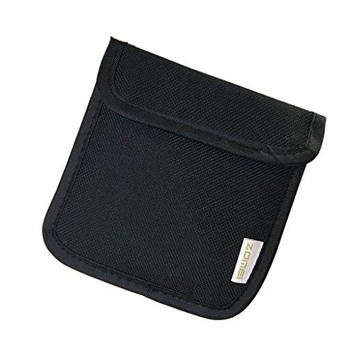 Interne Tasche Filter (Sharplace 1 x kreisförmigen Oder Quadratischen Linsen Schutz Tasche Filteretui für Alle Marken von Objektiv-Filter bis zu 82mm Interne doppellagige Mesh-Taschen, Gepolsterte Filtertasche)