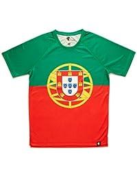 aa8989f19b Amazon.es  Camiseta Portugal - Ropa técnica   Ropa especializada  Ropa