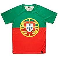 Camiseta Portugal Niño, Niña, Manga Corta, Running, Gimnasio #APortuguesa Talla 12