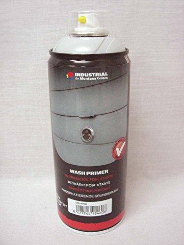 BOTE SPRAY PINTURA MONTANA COLORS IMPRIMACION FOSFATANTE WASH PRIMER METAL PLASTICO