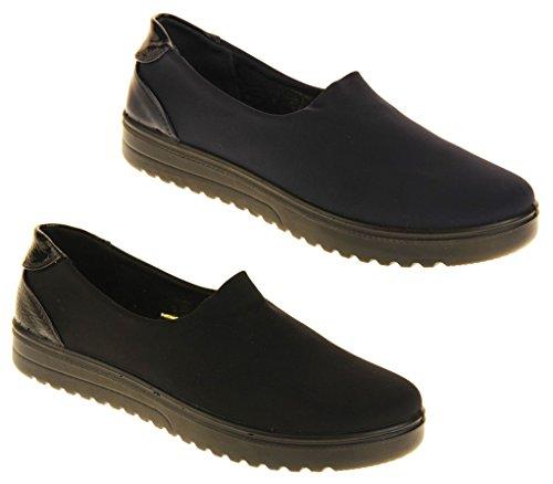 Footwear Studio Femmes Annabelle Mocassins Légers d'été Extensibles