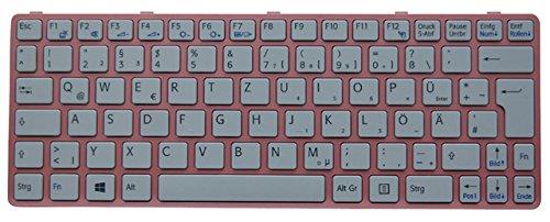 NExpert deutsche QWERTZ Tastatur für Sony Vaio SVE11 SVE1111M1E SVE111 Series DE weiß - Vaio Laptop Weiß Sony