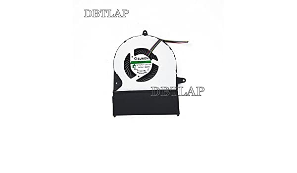 DBTLAP Laptop CPU Fan Compatible for ASUS UX52 UX52A UX52VS UX52ZV UX52V Laptop CPU Cooling Fan MF75070V1-C050-S9A