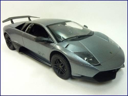 114-steering-operation-Lamborghini-Murcielago-radio-control-car-gunmetal