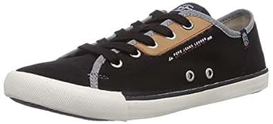 Pepe Jeans London  BRITT CLASSIC, Sneakers basses homme - Noir - Schwarz (999BLACK), 41 EU