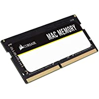 Corsair Mac Memory - Memoria para Apple Mac de 8 GB (2 x 4 GB, DDR3, SODIMM, 1333 MHz, CL9, certificada por Apple) (CMSA8GX3M2A1333C9)