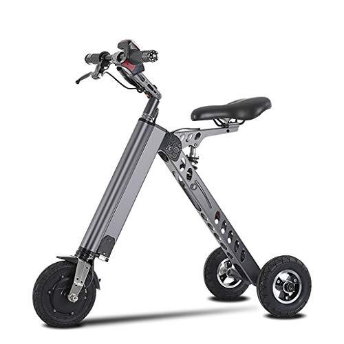 LxnMini Triciclo Plegable de 10 Pulgadas, Scooter eléctrico de batería de Litio de 36V 250W con Rango de 20 Millas...