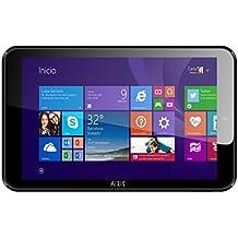 Airis WinPAD 80W 16GB Negro - Tablet (Minitableta, Pizarra, Windows 8.1 with Bing, Negro, 802.11b, 802.11g, 802.11n, Intel)