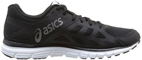 ASICS GEL-ZARACA 3, Herren Laufschuhe Schwarz (Onyx/Snow/Black)