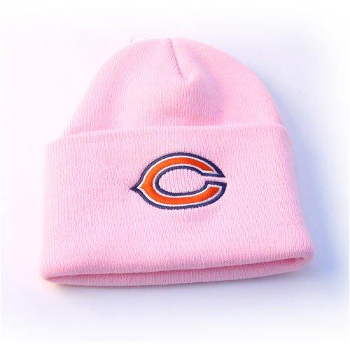 Chicago Bears Strickmütze mit Bündchen, Rosa
