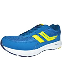 Campus Mens NavyBlue Yellow Colour 3G8213 Series Synthetic And Nylon Mesh Sport Shoes