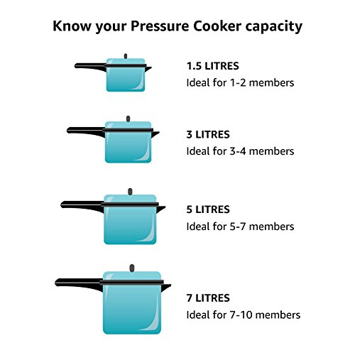 41qy3qV57EL. SS500  - Instant Pot Duo 7-in-1 Electric Pressure Cooker, 6 Qt, 5.7 Litre, 1000 W, Brushed Stainless Steel/Black