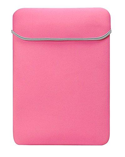 Tab Samsung 10 Cover 4 Zoll (7.9-10.1 Zoll Basics Schutzhülle Aktentaschen Schulter Tasche Notebooktasche Laptop Sleeve Laptop Hülle für Tablets Pink)